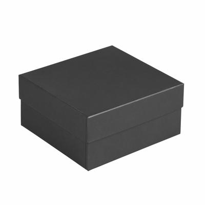 Коробка Satin, малая, черная с логотипом